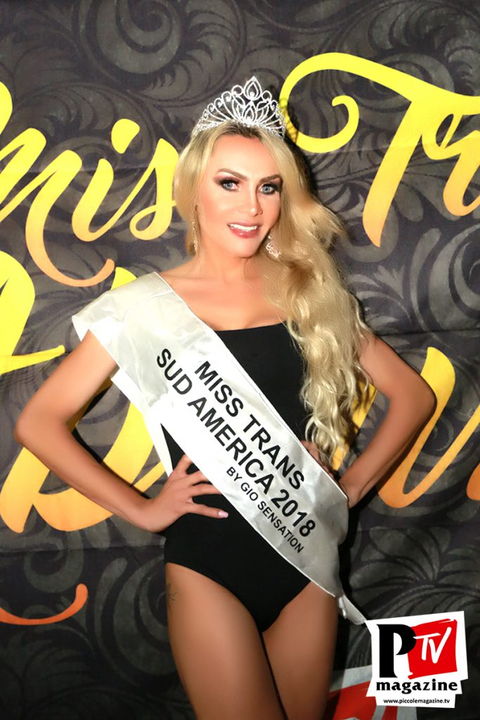 Chrystal Medeiros - Vincitrice Miss Trans Abruzzo 2018 - Sudamerica