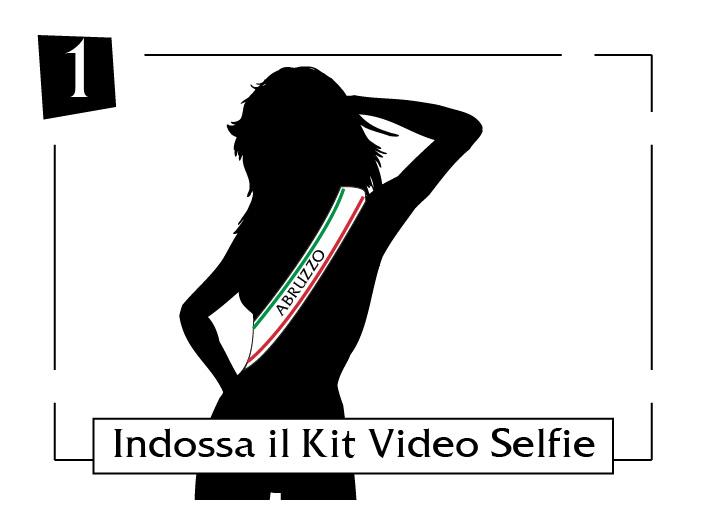 Indossa il tuo kit video selfie abruzzo